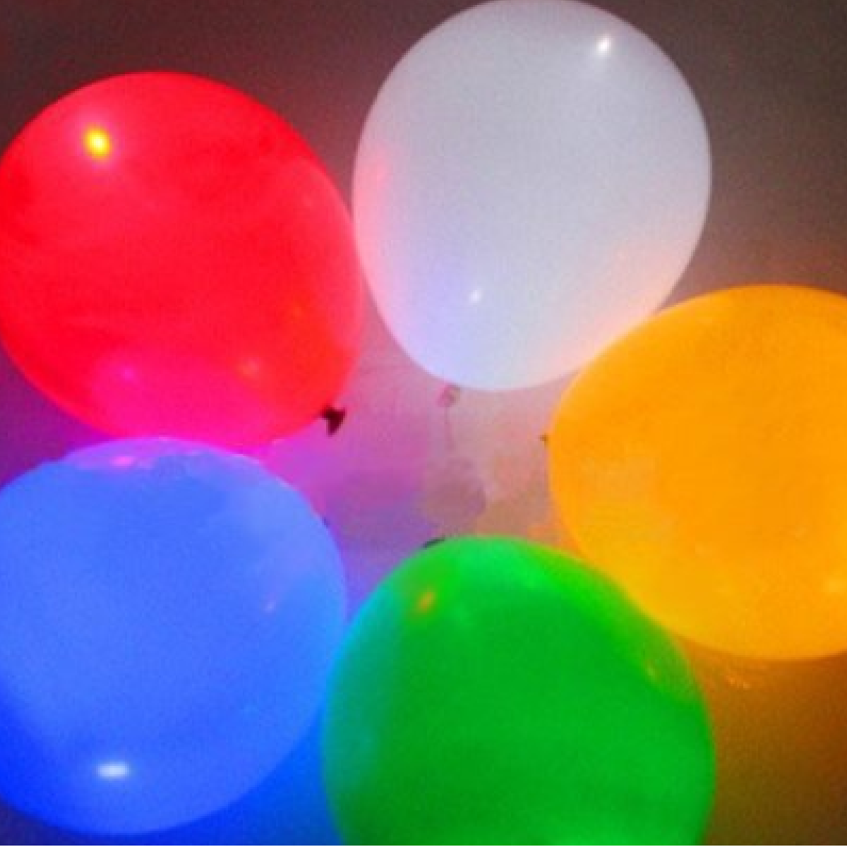 ballons gonflables lumineux avec led